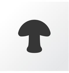 mushroom icon symbol premium quality isolated vector image