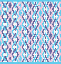 pink and violet abstract geometric retro pattern vector image