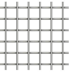 prison jail iron mesh seamless vector image