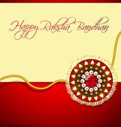 rakhi background vector image