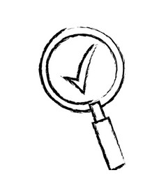 search find innovation research sketch vector image
