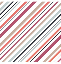shirt diagonal stripes seamless pattern vector image