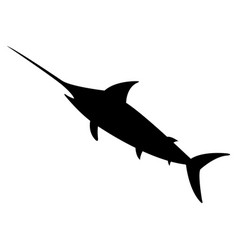 Swordfish icon vector