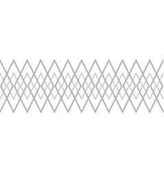 Tile grey and white pattern vector