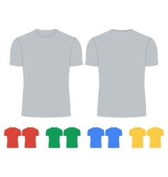 Tshirt Icon Concept for design vector image