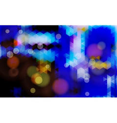 Abstract blurred blue background vector image