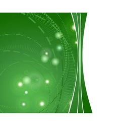 glowing hitech background vector image