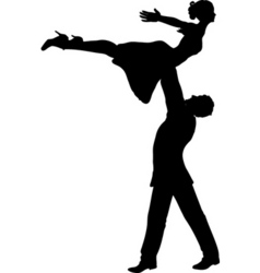 People dancing vector