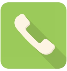 Telephone handsets icon vector image