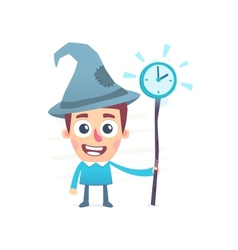 Time wizard vector