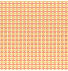Orange ginkgo biloba leaves seamless pattern vector image