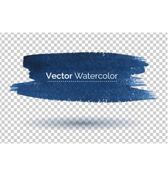 Hand drawn watercolor banner vector image