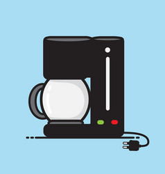 coffee maker vector image