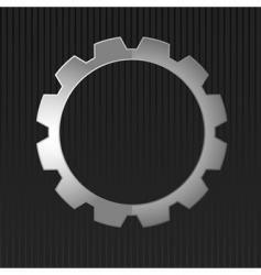 illustration of metal gear vector image