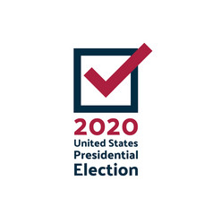 2020 united states presidential election vector image