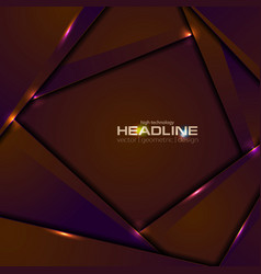 abstract shiny glowing corporate background vector image