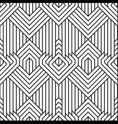 Abstract simple geometric seamless pattern vector