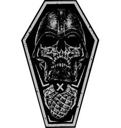 battlefield death vector image