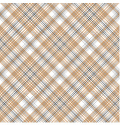 gold and platinum color check plaid seamless vector image