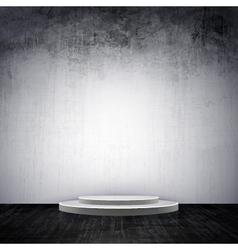grunge interior vector image