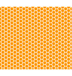 honey comb hexagonal background seamless vector image