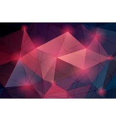 Multicolored Triangle Abstract Background vector image
