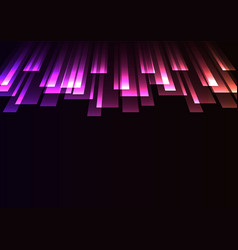 Overlap stripe rush in dark background vector
