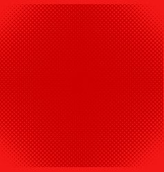 red halftone dot pattern background - design from vector image