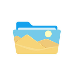 folder image photo photography picture icon vector image