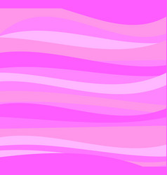 abstract pink wave background texturecartoon styl vector image