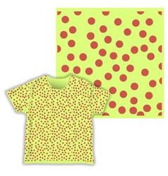 Dot triangular cute seamless pattern ready vector