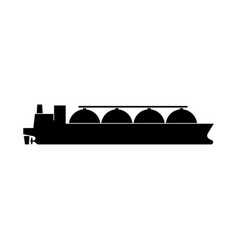gas carrier icon vector image