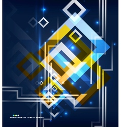Modern abstract geometrical design vector