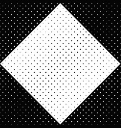 monochrome seamless dot pattern background vector image
