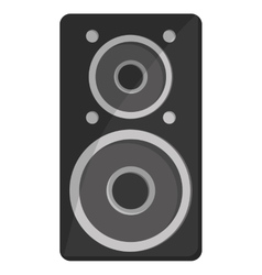 single speaker icon vector image