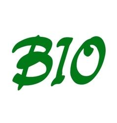 Word Bio vector image