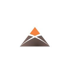 agent x logo design vector image