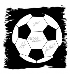 soccer design element vector image