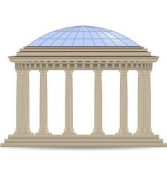 Stone rotunde vector