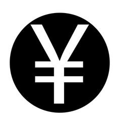 yuan icon vector image
