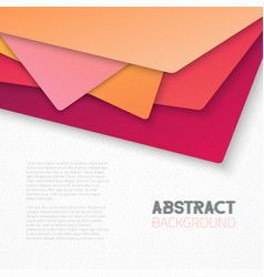 Abstract Textured Paper Tile Style Background vector image