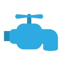Water tap icon vector