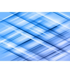 abstract lines blue cross full vector image vector image