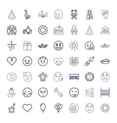 49 happy icons vector