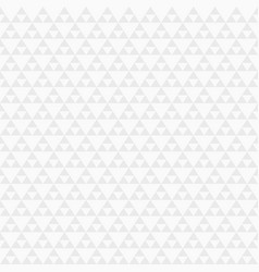 abstract geometric seamless pattern of triangles vector image