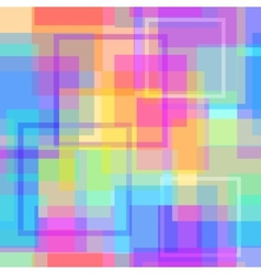 Abstract modern square pastel pixel background vector image
