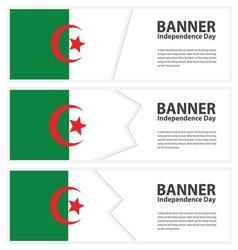 Algeria banner vector