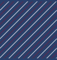 Blue seamless stripes pattern diagonal texture vector