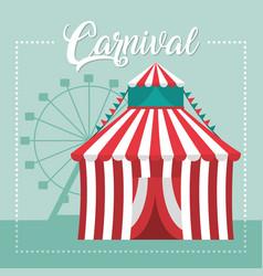 Carnival festival concept vector
