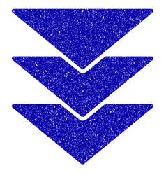 Downloads direction icon grunge watermark vector